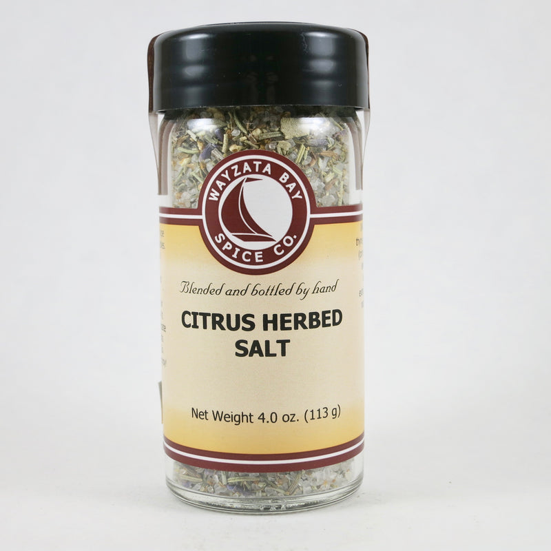 """Citrus Herbed Salt"""