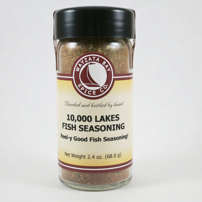 """10,000 Lakes Fish Seasoning"""