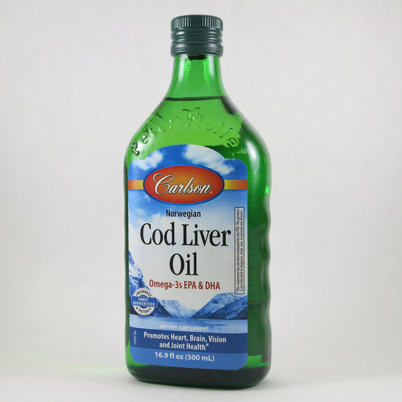 Cod Liver Oil by Carlson (16.9 fl oz)