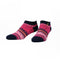 Marius Pink Navy, Low Cut Socks