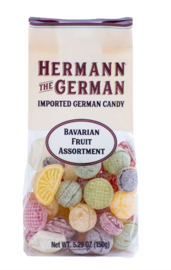 Bavarian Fruit Assortment Hard Candy