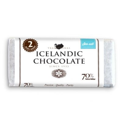 Icelandic Chocolate, Sea Salt
