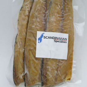 Smoked Mackerel Fillets - order per pkg (approx 1/4 lb) (PERISHABLE)