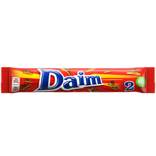 Freia Daim, Milk Chocolate w/ Crunchy toffee (1oz)