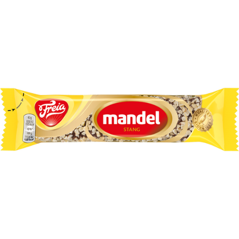 FREIA of Norway - Mandelstang (milk chocolate rolled in almond),  1.7oz