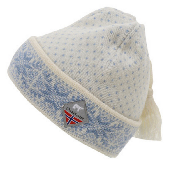 Snowflake Knit Cap (White) by Norlender