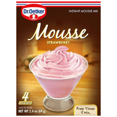 Strawberry Mousse (2.4oz)