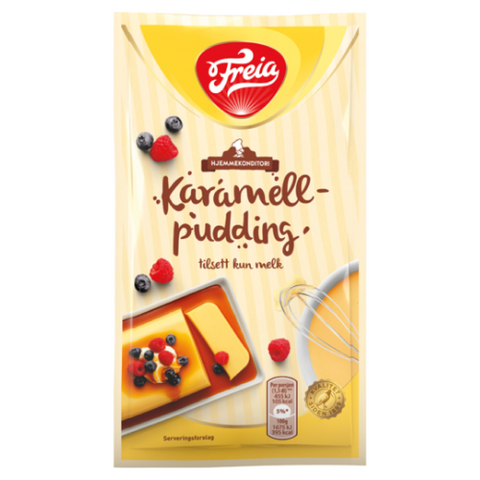 Karamell pudding Mix (Caramel Pudding Mix) by Freia