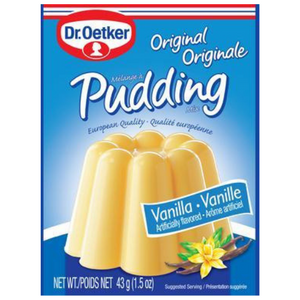 Vanilla Pudding by Dr.Oetker, 3 x 1.5oz