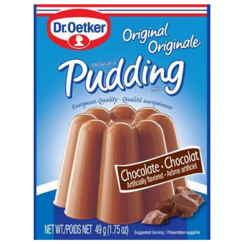 Dr. Oetker - Chocolate Pudding 3 x 1.75 oz