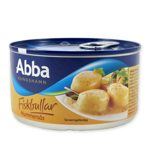 Fish Balls in Lobster Sauce, Sweden (13.2 oz)