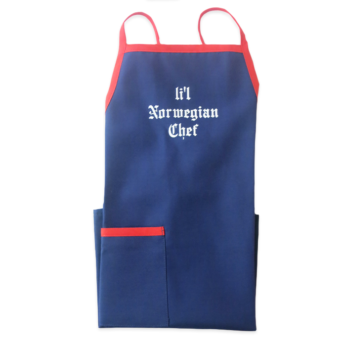 Apron (Child) - Li'l Norwegian Chef