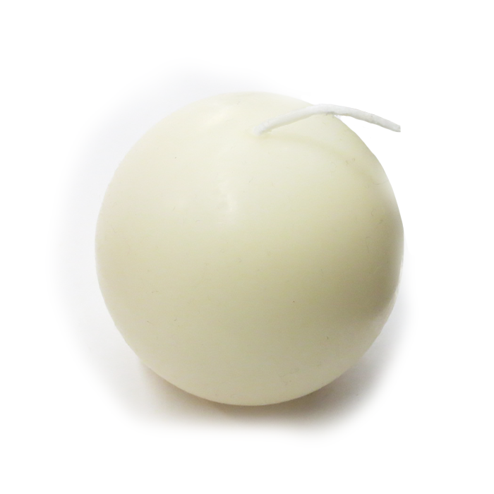 "2.5"" Ball Candles from Denmark, Pack of 4"