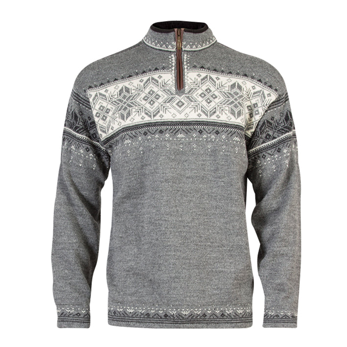 Blyfjell Unisex Sweater, by DALE of Norway (Smoke)