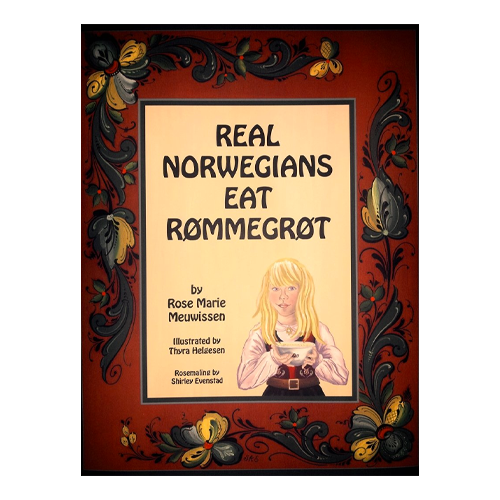 Real Norwegians Eat Rømmegrøt