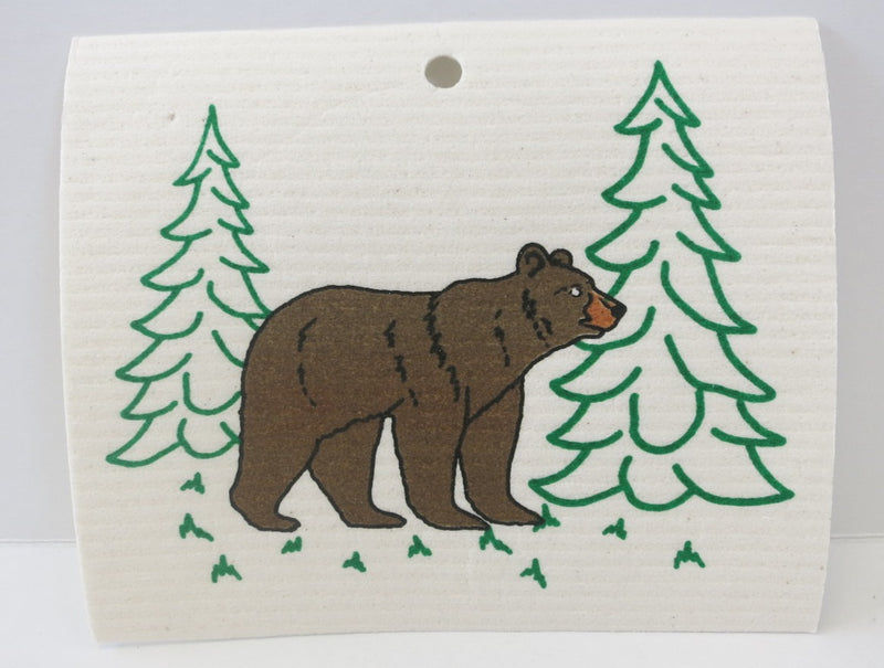 Bear Swedish Dishcloth