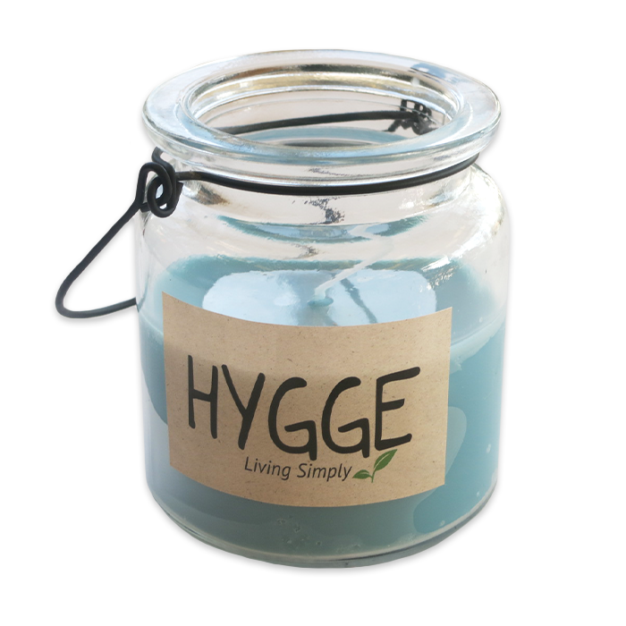 Hygge Glass Jar Candle (4 Different Colors!)
