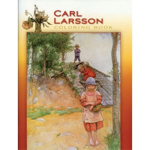 The Carl Larsson Coloring Book