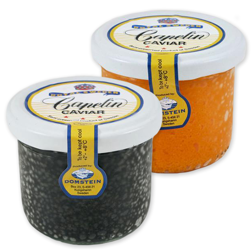 Capelin Caviar (Black or Orange)