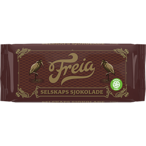FREIA of Norway - Selskaps Kokesjokolade (Company chocolate), 4.4oz
