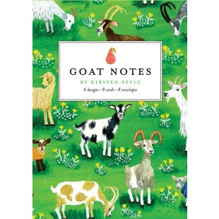Goat Notes by Kirsten Sevig