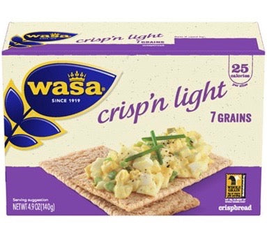 Wasa Crisp'n Light from Sweden, 4.9 oz