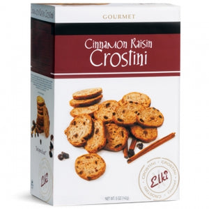 Elki - Cinnamon Raisin Crostini, 5oz