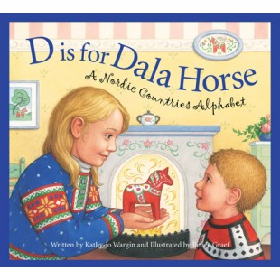 D is for Dala Horse - A Nordic Alphabet