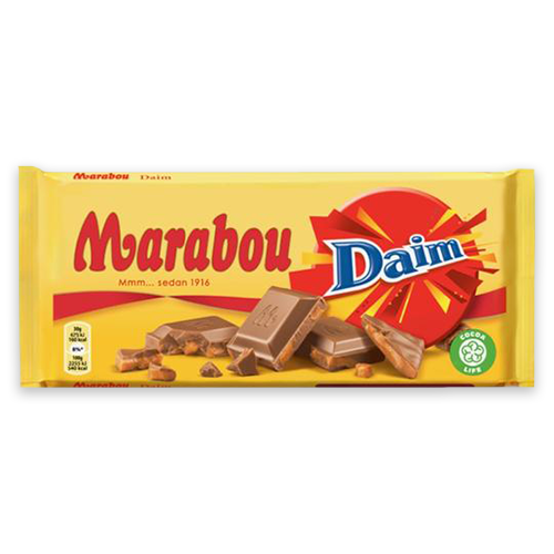 Marabou w/ Daim Chocolate Bar