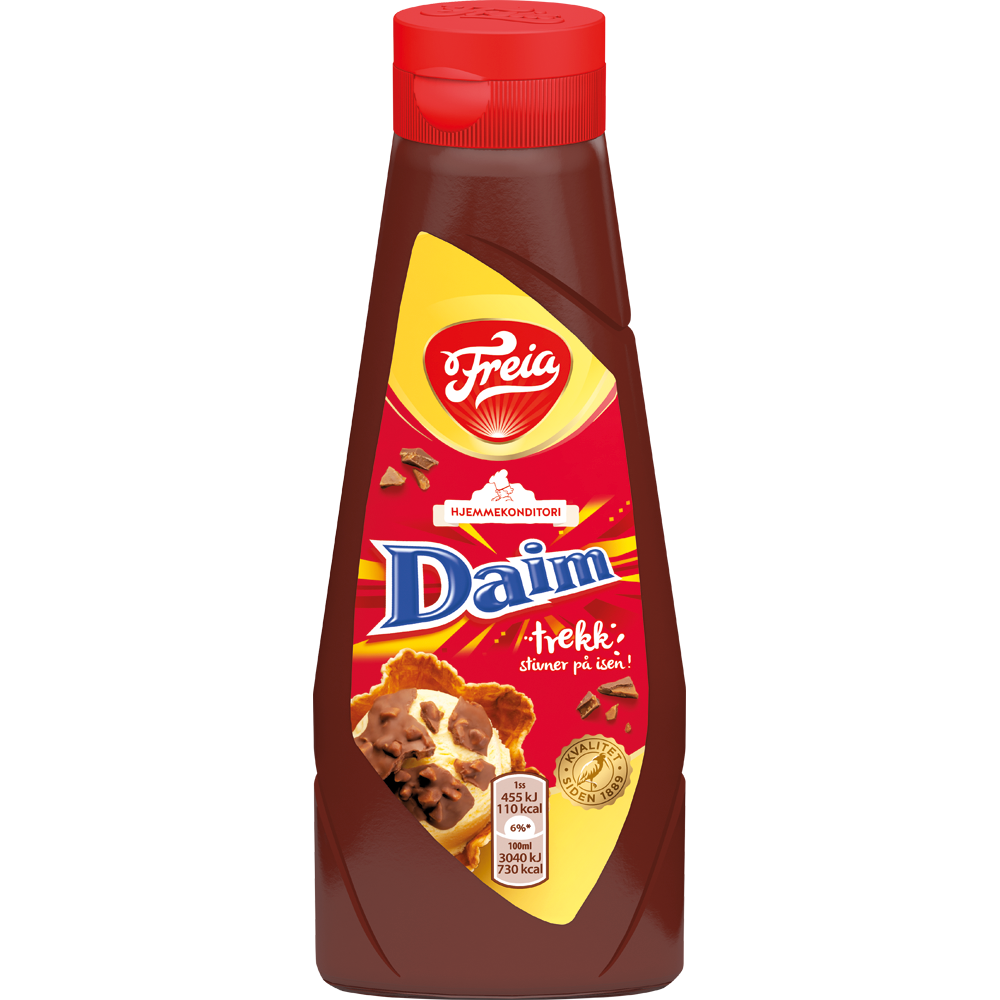 Daim Hard Topping by Freia - 280g