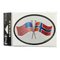 Oval Decal - Norway/USA Friendship