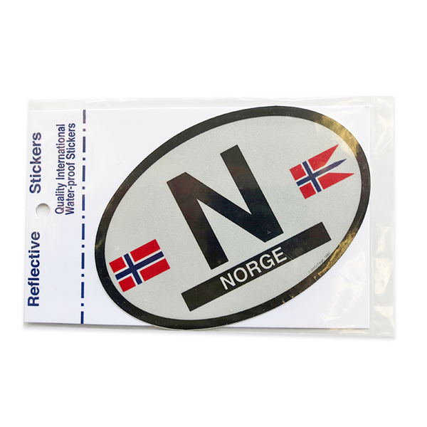 Oval Decal - Norway