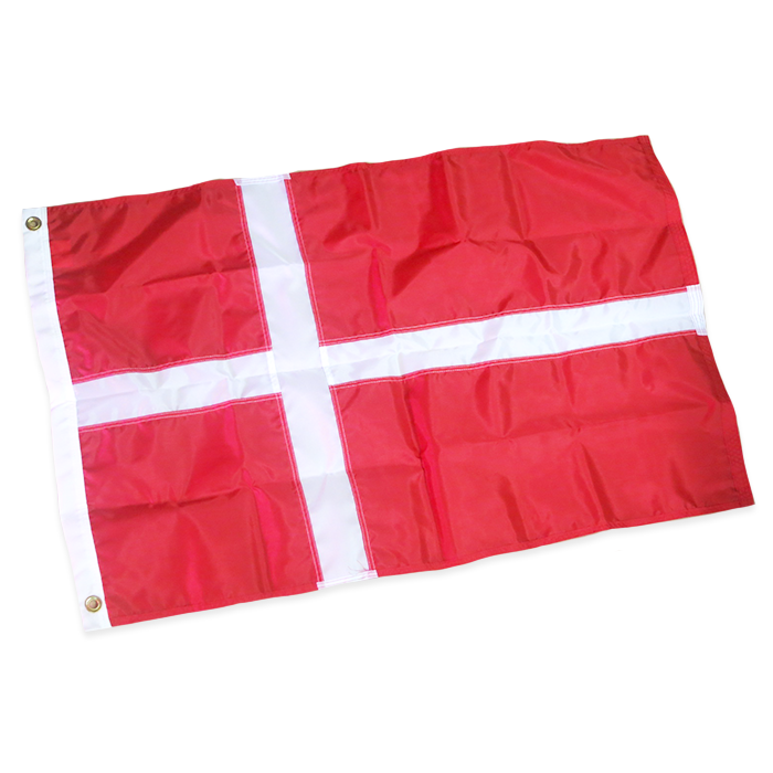 Danish Outdoor Flag - Nylon