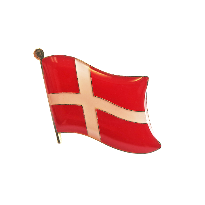 Danish Lapel Pin