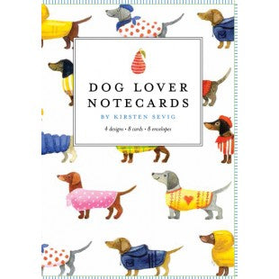 Dog Lovers Notecards by Kirsten Sevig