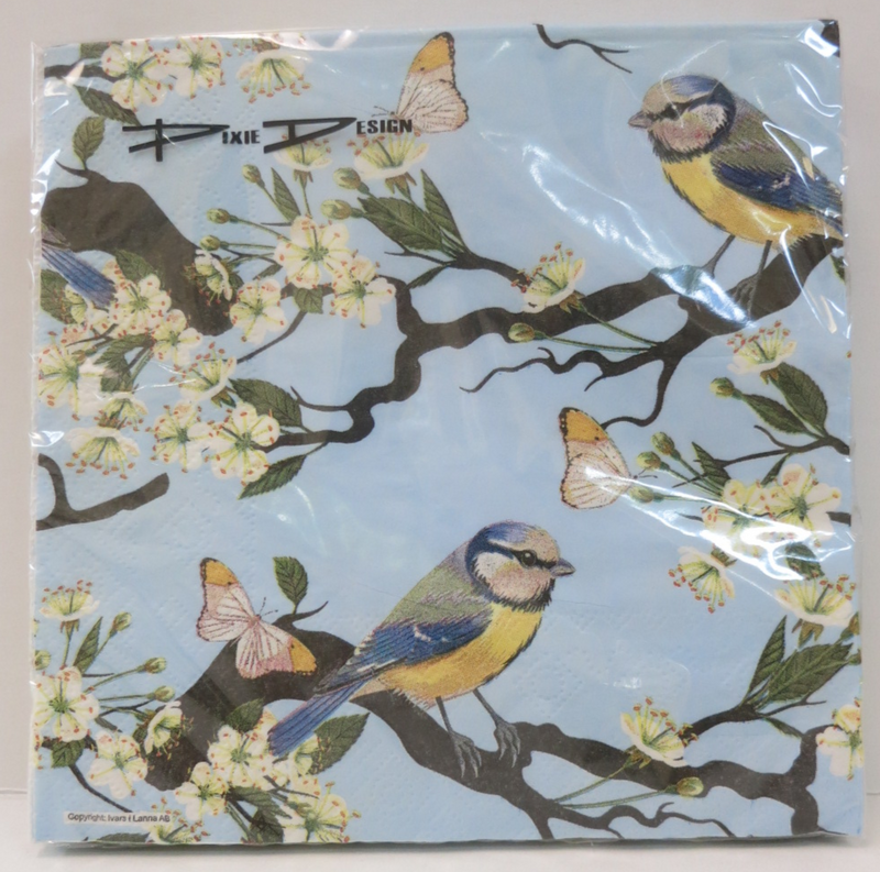 Birds on Branches- Cocktail Napkins