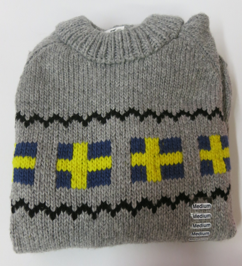 Swedish Flags Sweater
