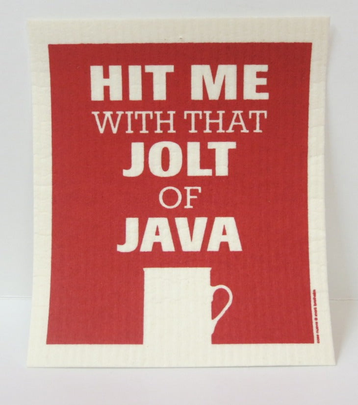 """Java"" Swedish Dishcloth"