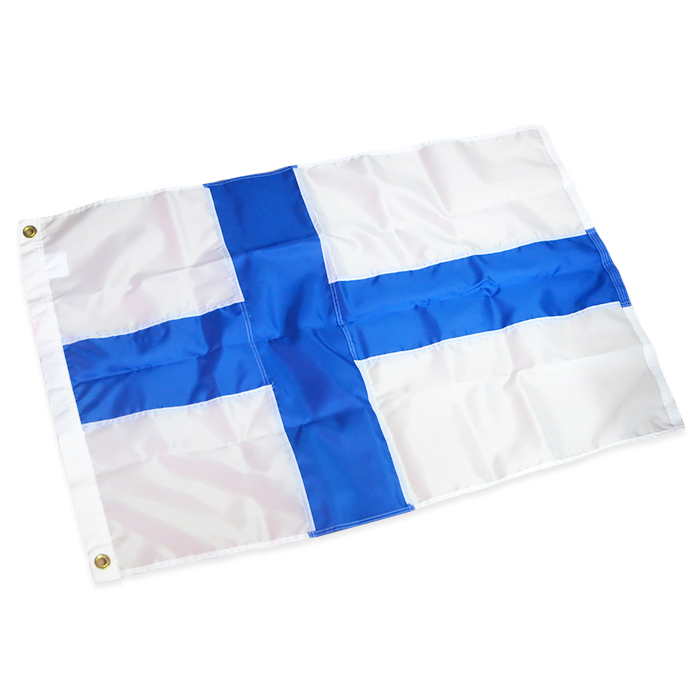 Finnish Flag - Nylon Material (Outdoor Use)