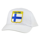 Baseball Cap - Finland, Shield Patch