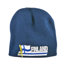 Knit Cap - Finland, Strip Patch