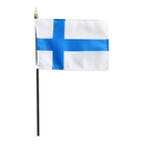 Finnish Mini Flag - 4x6""