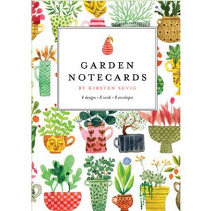 Garden Notecards by Kirsten Sevig