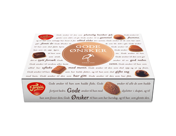 FREIA of Norway - Gode Ønsker (Assorted Chocolates), 500g