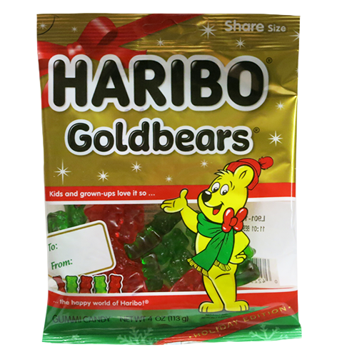 Christmas Edition Gold Bears