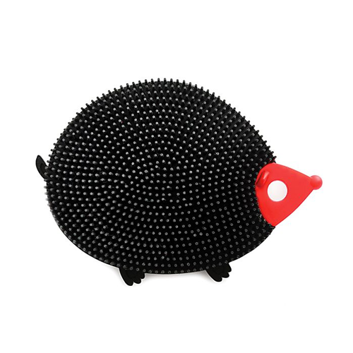 Silicone Dish Brush, Hedgehog