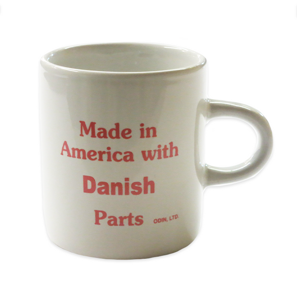 Heritage Mug - Made in America with Danish Parts