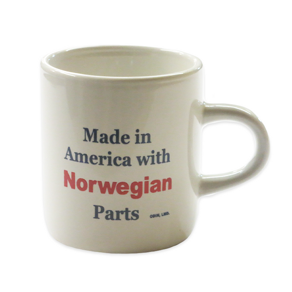 Heritage Mug - Made in America with Norwegian Parts