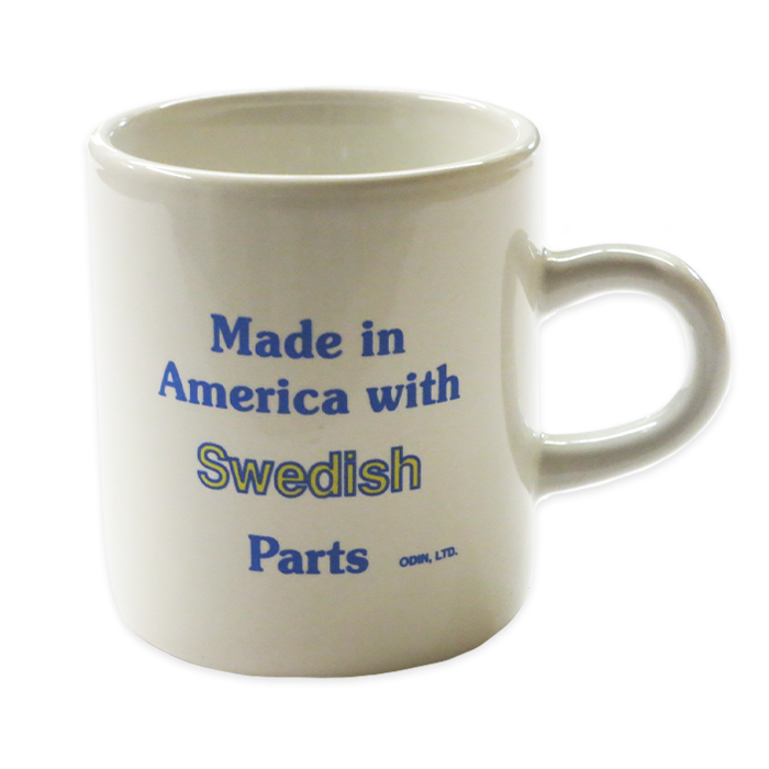 Heritage Mug - Made in America with Swedish Parts