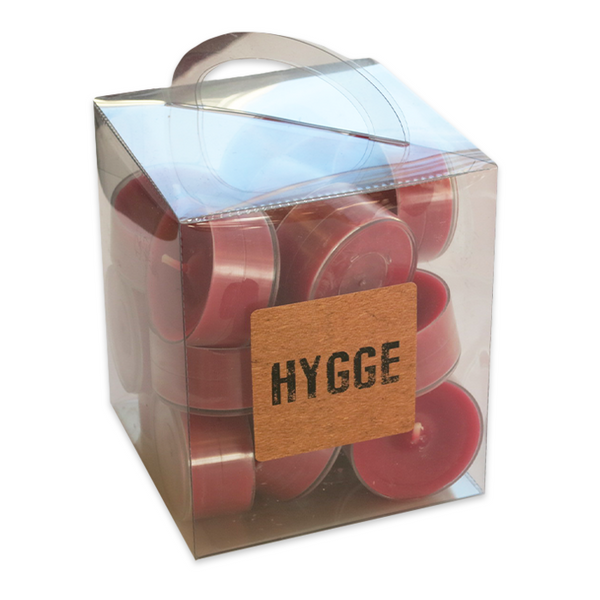 Hygge Tea Light Candles, 18 Pieces